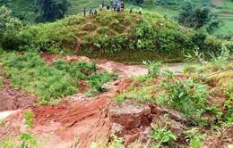 Sạt lở đất ở Lào Cai, 2 bà cháu tử vong