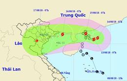 Áp thấp nhiệt đới mạnh lên thành bão, đổi hướng đe dọa miền Bắc