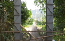 Sơn La: Cầu treo đứt cáp khiến hàng nghìn người lo lắng