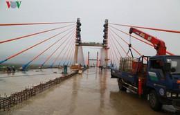 Sắp hoàn thành cầu Bạch Đằng nối Quảng Ninh với TP Hải Phòng