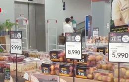 Hàn Quốc: Giá nhiều mặt hàng tăng cao vì nắng nóng