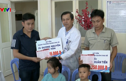 Trao hơn 3,8 tỷ đồng hỗ trợ 2 bệnh nhi trong vụ tai nạn giao thông ở Quảng Nam