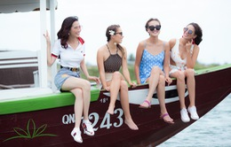 Top 4 Hoa hậu Đại sứ Du lịch thế giới 2018 quảng bá du lịch Hội An