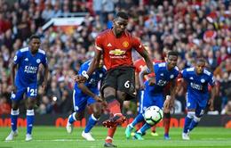 Vòng 1 Ngoại hạng Anh: Pogba phá kỷ lục của D.Yorke, đại chiến một chiều cho ĐKVĐ Man City