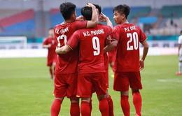 Olympic Việt Nam 3-0 Olympic Pakistan: Quang Hải, Văn Quyết và Công Phượng lập công, Olympic Việt Nam thắng thuyết phục trận ra quân