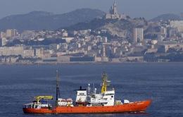 5 nước châu Âu tiếp nhận 141 người di cư trên tàu cứu hộ Aquarius