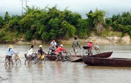 Mất an toàn đường thủy tại các bến đò ngang ở Quảng Trị
