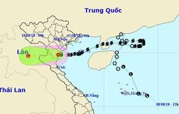 Bão số 4 suy yếu, vùng biển Vịnh Bắc Bộ thời tiết xấu