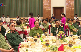 Bộ Công an, Bộ Quốc phòng gặp mặt nhân kỷ niệm 73 năm Ngày truyền thống lực lượng Công an nhân dân