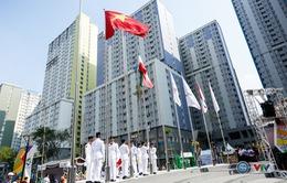 ẢNH: Lễ thượng cờ đoàn Thể thao Việt Nam tại ASIAD 2018