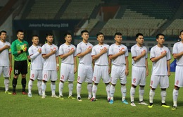 ĐT Olympic Việt Nam trong top 4 đội giành vé vào vòng 1/8 ASIAD 2018 sớm nhất