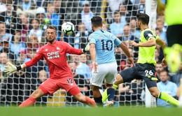 VIDEO Man City 6-1 Huddersfield: Hattrick đầu tiên mùa giải của Aguero