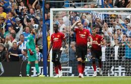 Hàng thủ siêu tệ, Man Utd thua sốc trên sân của Brighton