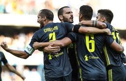 """Chievo 2-3 Juventus: Ronaldo không ghi được bàn, """"Bà đầm già"""" thắng nghẹt thở"""