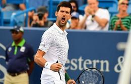 Cincinnati mở rộng 2018: Djokovic vất vả giành quyền vào chung kết