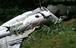 Tìm thấy hộp đen máy bay rơi tại Mexico