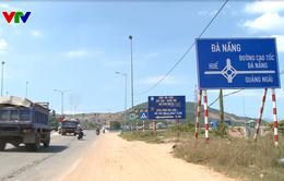 Bộ trưởng Bộ Giao thông Vận tải kiểm tra tiến độ dự án cao tốc Đà Nẵng - Quảng Ngãi