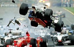 Đua xe F1: Những pha va chạm nổi tiếng nhất lịch sử