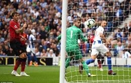 VIDEO Brighton 3-2 Man Utd: Quỷ đỏ thua trận đầu tiên mùa giải