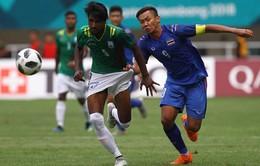Bóng đá nam ASIAD 2018: ĐT Olympic Thái Lan cùng ĐT Olympic Myanmar chính thức bị loại