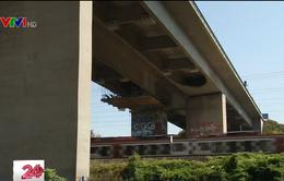 Sau Italy, Pháp lo sợ hàng trăm cây cầu sụp đổ