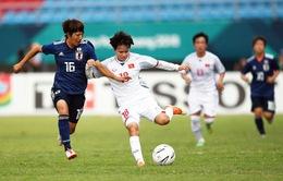 Thua ĐT nữ Nhật Bản 0-7, ĐT nữ Việt Nam đi tiếp với ngôi nhì bảng C