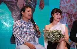 """Phim Yêu thì ghét thôi: Vân Dung trẻ trung, e lệ bên """"chồng cũ"""" Quang Thắng"""