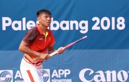 Dừng bước tại vòng 1/8, Lý Hoàng Nam chia tay ASIAD 2018