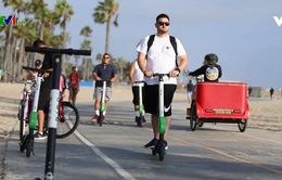 Dịch vụ xe scooter điện cho thuê ở Mỹ