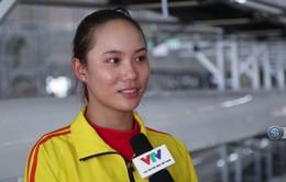 Phóng viên Thể Thao VTV tác nghiệp tại ASIAD 2018: Những chia sẻ của Lường Thị Thảo sau khi cùng đồng đội giành HCV môn Rowing.