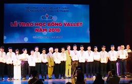 Trao 500 suất học bổng Vallet năm 2018