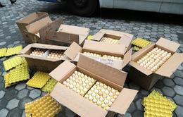 Hà Tĩnh bắt giữ trên 17.000 trứng gà không rõ nguồn gốc