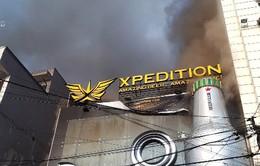 Cháy lớn tại thành phố Đà Lạt
