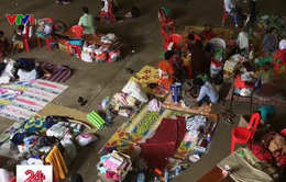 Tình cảnh khốn khó của người dân Kerala, Ấn Độ sau lũ