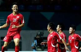 Xác định 4 cặp đấu tứ kết bóng đá nam ASIAD 2018