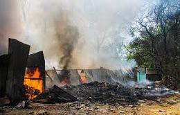 Cảnh báo nguy cơ cháy ở các cơ sở phế liệu