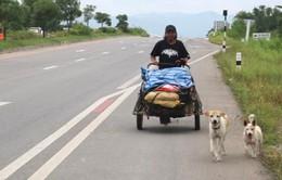 Thái Lan: Đi bộ 1.500km đưa tro cốt bạn gái lên núi