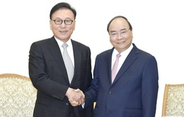 Thủ tướng tiếp Tổng Lãnh sự Danh dự Việt Nam tại Busan- Gyeongnam