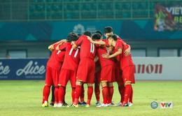 Lịch thi đấu CHÍNH THỨC Tứ kết bóng đá nam ASIAD 2018: Olympic Việt Nam gặp Olympic Syria