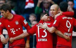 Bayern Munich vất vả thắng trận ra quân Bundesliga