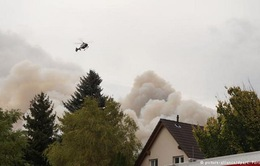 Cháy rừng nghiêm trọng tại Đức, 600 người dân đi sơ tán