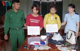 Kon Tum: Bắt 2 đối tượng vận chuyển ma túy qua cửa khẩu quốc tế Bờ Y