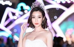 Hoa hậu Đỗ Mỹ Linh lạ lẫm với tóc ngắn ngang vai