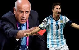 Kêu gọi đốt áo Messi, quan chức Palestine bị FIFA phạt nặng