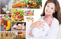 Chế độ dinh dưỡng cho các mẹ nuôi con bú