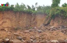 Quảng Nam cấp phép khai thác đất dưới chân đập thủy lợi