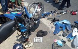 Bình Thuận: Xe máy tông nhau, 2 nam thanh niên tử vong