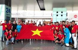 CĐV hồ hởi sang Indonesia xem Olympic Việt Nam đá tứ kết ASIAD 2018