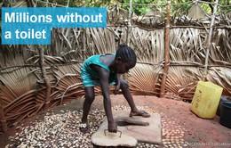 Gần một nửa trường học trên thế giới thiếu trang thiết bị vệ sinh