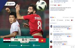 CĐV Đông Nam Á phát sốt với kỳ tích lịch sử của Olympic Việt Nam